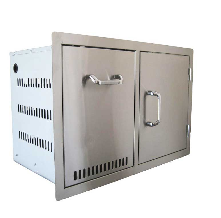 24240 - Propane Tank Drawer and Single Door Combo